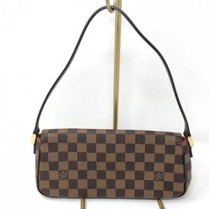 Louis Vuitton Bags - Louis Vuitton Damier Ebene Recoleta Bag Leather